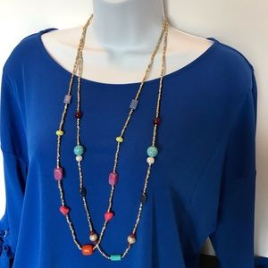 Chicos beaded necklace